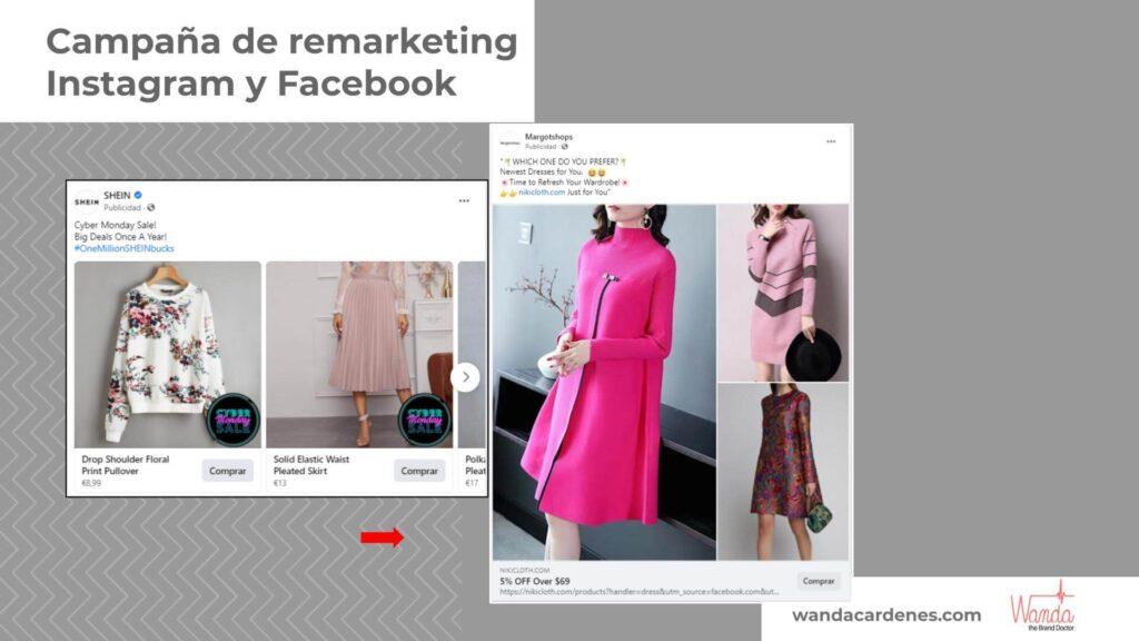 anuncio navidad Facebook e Instagram