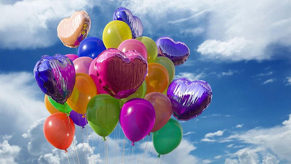 Tendencias en globos para decoración de fiestas