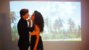 ana lia en video musical Samaná