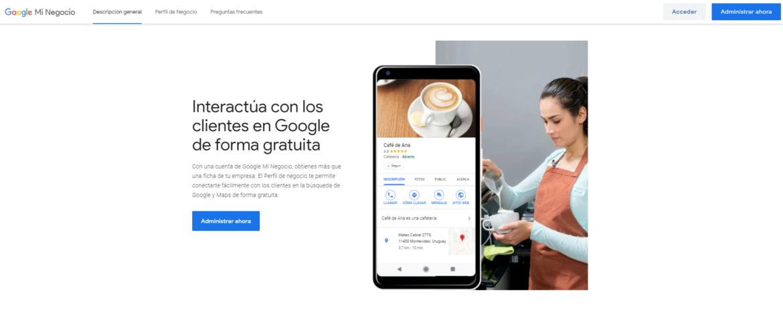 Potencia tu empresa con Google Mi Negocio